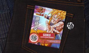 pantalones de goku dragon ball